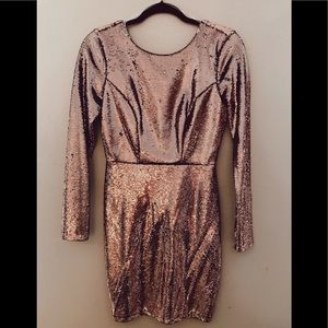 New Charlotte Russe sequin Holiday Dress